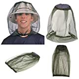 Midge Mosquito Insect Hat Bug Mesh Head Net Face Protector Travel Camping oe