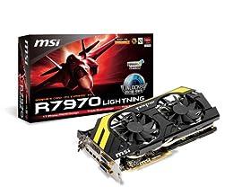 MSI Radeon HD 7970 搭載ビデオカード Boost Edition 日本正規代理店品 VD4817 R7970 Lightning BE