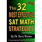 The 32 Most Effective SAT Math Strategies, 2nd Edition ~ Steve Warner