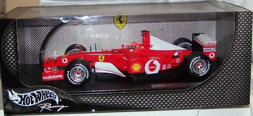 2002 Ferrari Formula One F1 Michael Schumacher Diecast Model Race