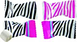 Party Sweets Zebra Print Buttermints, 7-Ounce Bags (Pack of 6)
