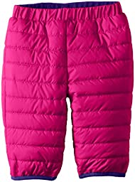 Columbia Baby Girls Newborn Double Trouble Pant, Groovy Pink/Hyper Purple, 3/6