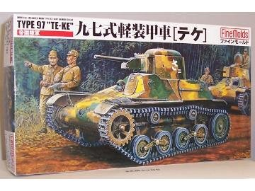 1/35 九七式軽装甲車テケ