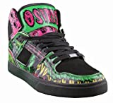 Osiris Men's NYC83 VLC Skate Shoe,Black/Green/Mishka,10 M US