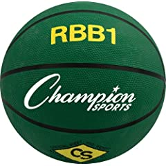 Buy Champion Sports Rbb1 Official Rubber Outdoor Basketball (29.5) by Champion Sports
