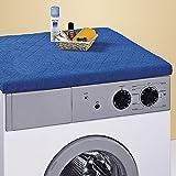 Wenko-Tissu-de-protection-pour-machine--laver-Bleu-roi