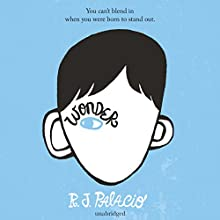 Wonder Audiobook by R J Palacio Narrated by Diana Steele, Nick Podehl, Kate Rudd