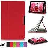 Lenovo Idea Tab A8-50 8 Inch Case Cover, FYY® Slim Fit Folio Stand Leather Case Cover for Lenovo Idea Tab A8-50 8 Inch Red