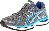 ASICS Womens Gel-Kayano 19 Running Shoe,Lightning/Turquoise/Iris,6.5 M US