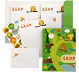 Pepper Pot By The Gift Wrap Company Camp Cahoot Stationery Set (Pack of 2)