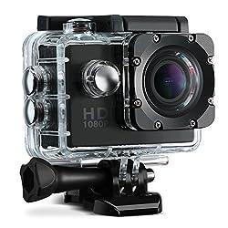 VicTsing Sports Action Camera, 2.0 Inch 1080P HD Waterproof Action Camera DV Camcorder