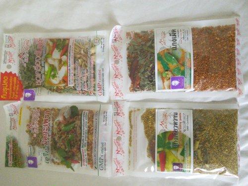 (4) Best Of Thai Classic Seasoning Sampler Packages -