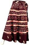 Batik Print Long Skirt India Wrap Wom…