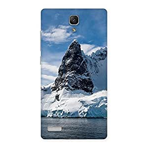 Enticing Beach Freez Hill Back Case Cover for Redmi Note