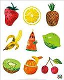 エリック・カール (Eric Carle) はらぺこあおむし ミニポスター Caterpillar With Fruits(130305)