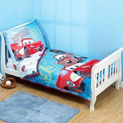 Disney Cars Toddler Bedding 4pc Set   Reversible Comforter Bed Set. Disney Cars Twin Comforter Set   Disney Cars Twin Comforter Set