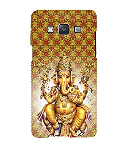 iFasho Lord Ganesha Back Case Cover for Samsung Galaxy A7