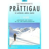Prättigau Skitourenkarte 1:50'000