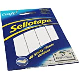 Sellotape SE3792 20mm x 20mm Sticky Fixer Outdoor