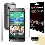 [Pack of 5] TECHGEAR® HTC One Mini 2 ULTRA CLEAR LCD Screen Protector Guard Covers With Cleaning Cloth & Application Card (5x Ultra Clear Edition)