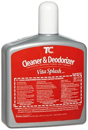 Rubbermaid Commercial FG401533 Cleaner and Deodorizer Refill for Auto Janitor Toilet and Urinal Cleaning Systems, Vita Splash