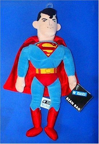 """Superman Bean Bag 10"""" Plush Doll"""