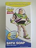 Disney Pixar Toy Story Bath Soap and Bath & Shower Sponge Set Galactic Berry Blast w/ Bonus Toy Story Antibacterial Hand Wipes