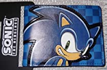 SONIC The Hedgehog Checkered Blue Bi-Fold WALLET