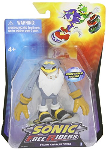 Sonic Free Riders 3.5 Inch Action Figure Storm - 1