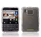 Clear Protector Case Snap On Phone Cover for Motorola Charm