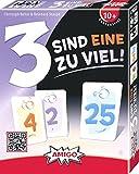 3 sind eine zuviel! MBE3: AMIGO - Kartenspiel