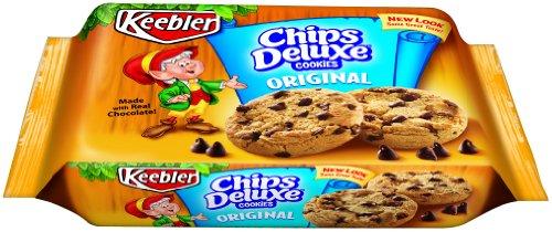Original Chips Deluxe Cookies, 14.2 oz, 4 pk