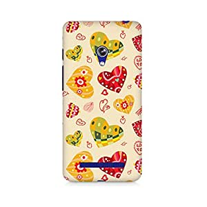 Mobicture Love Abstract Printed Phone Case for Asus Zenfone Go