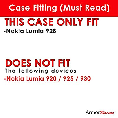 Nokia Lumia 928 Case, [ArmorXtreme] Hybrid Armor KickStand Dual Layer Protection Case - H by ArmorXtreme