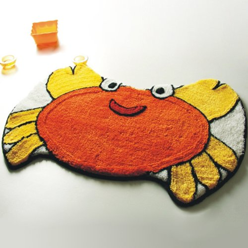 Naomi - [Crab] Kids Room Rugs (22 by 32 inches)
