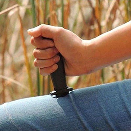 Nouvelle Comédie magique plastique rétractable Dague Props Couteau Prank Trick Effrayant