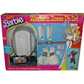 Western Barbie Dress-Up Set Vintage Cowgirl Costume For Kids