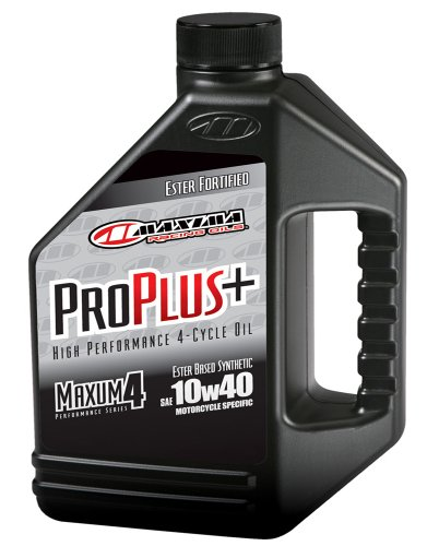 Maxima (30-029128) Pro Plus+ 10W-40 Synthetic Motorcycle Engine Oil - 1 Gallon Jug (Mobile 1 Motorcycle Synthetic Oil compare prices)