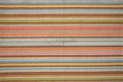 Citapore 2'X3' Multi-Colored Handwoven Quality Ribbed Striped Rug/Mat, Style: 0079, Free Shipping, Storewide Sale