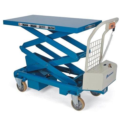 "Bishamon Mobilift Electric Scissors Lift Tables - 1100-Lb. Capacity - 17.1 - 63.2"" Lift Height"