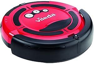 Vileda 137173 Cleaning Robot - Staubsaugroboter zur Zischendurchreinigung - für glatte Böden & kurzflorige Teppiche
