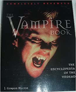 Image for The Vampire Book: The Encyclopedia of the Undead