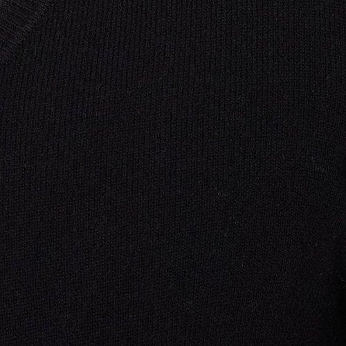 R Essentiel Mens Merino Wool And Cashmere V-Neck Sweater charter club new purple cashmere crew neck sweater msrp $129 00