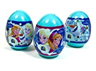 3 Disney Frozen Surprise Eggs with To…