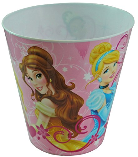Disney Princess Plastic Trash Can - 1