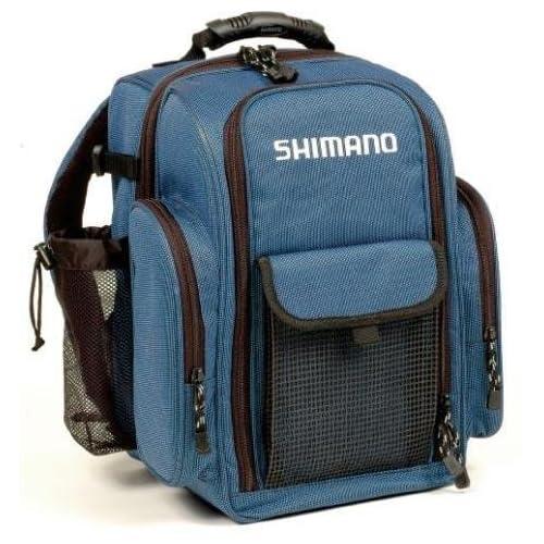 Shimano blackmoon compact backpack tackle bag for Fishing tackle box backpack