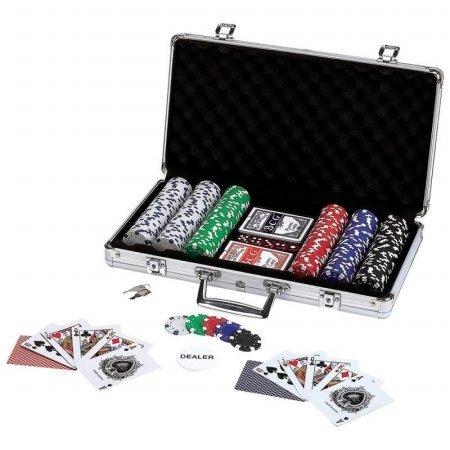 Maxam Poker Chip Set in Aluminum Case (309 Piece)