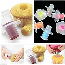 Gaobei 1Pc Kitchen Cake Core Remover Cake Cupcake Plunger Corer Decoration Kit Set