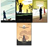Vintage classic Nevil Shute collection 4 Books set. (Requiem for a wren, Pied Piper, a town like Alice and on the beach)