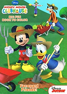 Amazon Disney Mickey Mouse Clubhouse Coloring Book